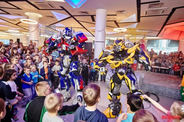 Организация детского праздника с различными шоу