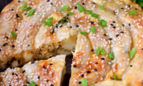 Бурек с сырной начинкой — рецепт вкусной выпечки